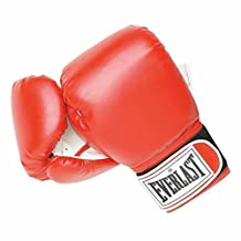 Everlast Women's Boxing Wrist Wrap Training Gloves Heavy Bag Level 1 - Red