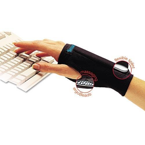 - Imak A20126 SmartGlove Wrist Wrap, Medium, Black