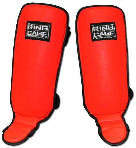 Kids Grappling Shin in-step Guard for MMA, Muay Thai, Kickboxing (X-Large) - Grappling Shin Instep Guards