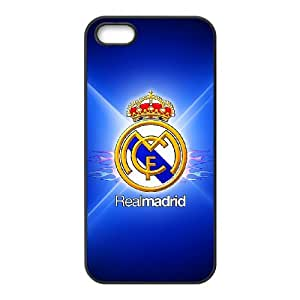 Custom Phone Case A Real Madrid logo For iPhone 5,5S HU55303