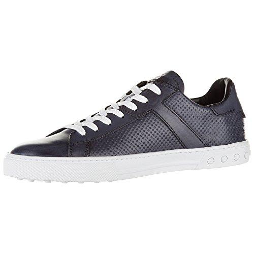 Punto De Venta Se Venta De La Mejor Venta Tod's Scarpe Sneakers Uomo in Pelle Nuove Etichetta Cassetta Blu XDa0GHGo