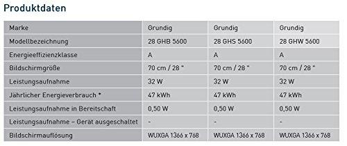 Grundig 28 GHS 5600 70 cm (28 Zoll) Fernseher (HD ready
