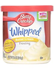 Betty Crocker Whipped Butter Cream Frosting (Pack of 2) 12 oz Tubs