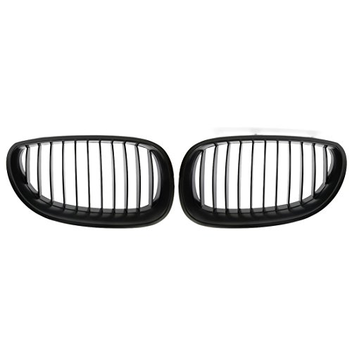 uxcell Matte Black Front Kidney Sport Grilles Grill for sale  Delivered anywhere in USA