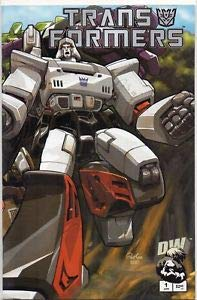 Transformers Generation 1 #1 (Dreamwave Productions Transformers)