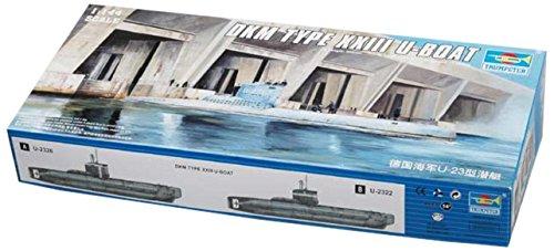 トランペッター 1/144 ドイツ海軍 Uボート23型 プラモデル