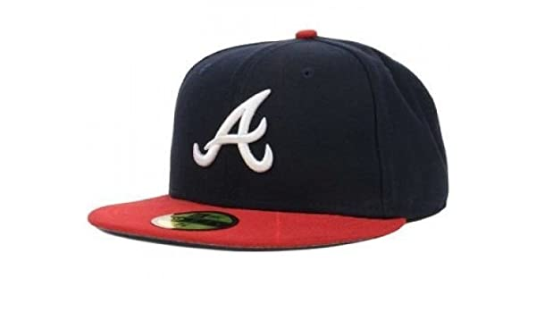 ee5b0828213 Amazon.com   New Era Atlanta Braves MLB Authentic Collection 59FIFTY On  Field Cap NewEra   Sports   Outdoors