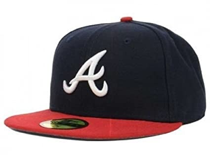 e152dfe537c New Era Atlanta Braves MLB Authentic Collection 59FIFTY On Field Cap NewEra  59Fifty  7