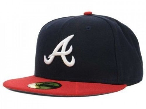 New Era Atlanta Braves MLB Authentic Collection 59FIFTY On Field Cap NewEra 59Fifty: 7 5/8