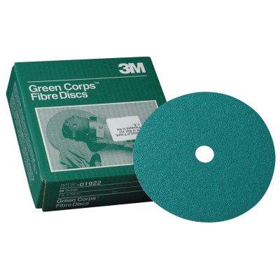 3m Green Discs Fibre - 3M 01922 Green Corps 7