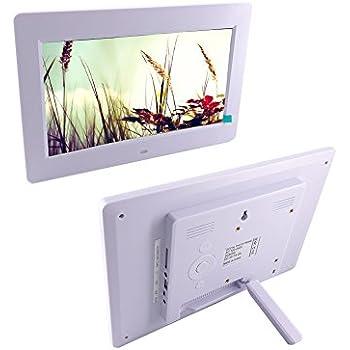 Amazon.com : Sylvania SDPF1089 10-Inch LED Multimedia Wood Finished ...