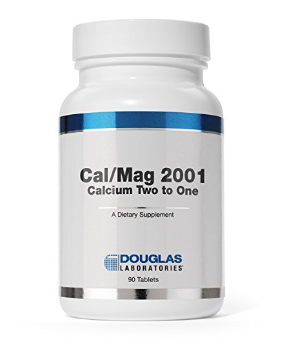 Douglas Laboratories® - Cal/Mag 2001 (Calcium Two to One) - with Magnesium and Other Nutrients to Support Healthy Bone Structure* - 180 Tablets Cal Mag Calcium
