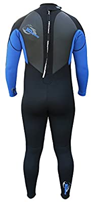 H2ODYSSEY 4/3mm Mens Wetsuit GBS Momentum Surfing Diving Snorkeling