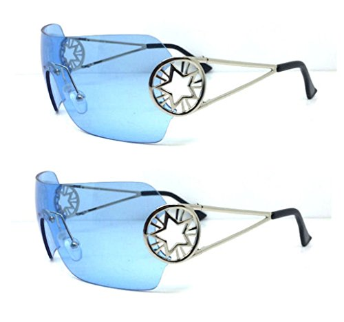Bono Sunglassses blue lenses - Sunglasses Bono