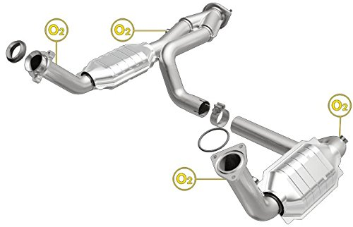 MagnaFlow 93419 Direct Fit Catalytic Converter (Non CARB compliant) by MagnaFlow Exhaust Products