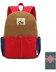 Moonwind Cute Cartoon Kids School Backpack Kindergarten Book Bag for Girls Boys