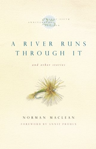 Book cover for A River Runs Through It