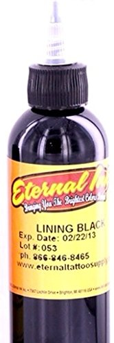 Amazon.com: Eternal Tattoo Ink Lining Black 1oz: Health & Personal Care