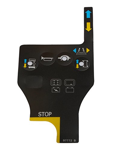 Control No Overlay - none-branded Play Control Box Overlay Decal 97772 97772GT 97772 B for Genie GR-12 GR-15 GR-20 GS-1530 GS-1930 GS-2032 GS-3232 QS-12R QS-15R QS-20R