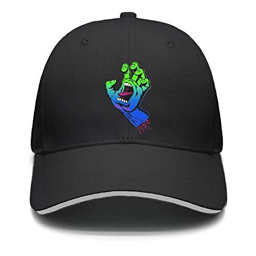 Mens Womens Adjustable Dad Baseball Snapback Trucker Wool Peak Cap Hat