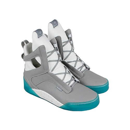 Radii Men's Prism Leather High Top Colorblocked Dolphin Ice Sneaker Shoes Size 10.5 -
