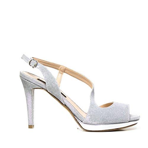 Bacta De Toi 456 0810 talón de la sandalia de plata SILVER 456 0810