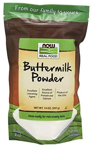 Now Foods, Real Food, Buttermilk Powder, 14 oz (397 g)