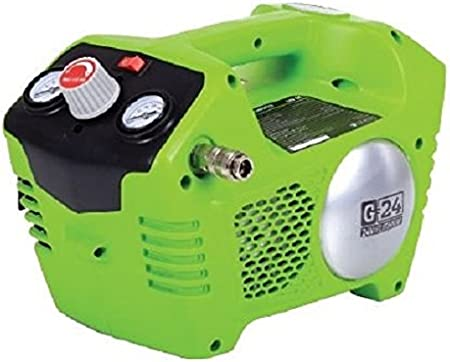 Battery and charger not included Greenworks 24V Cordless Compressor 4100302