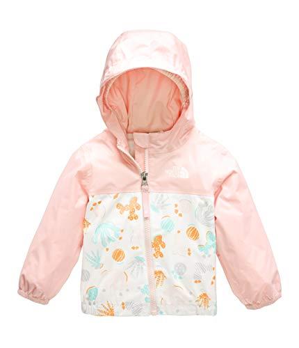 (The North Face Infant Zipline Rain Jacket, TNF White Cactus Lino Print,)