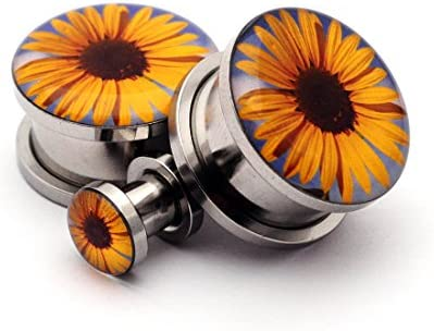 Screw Plugs Sunflower Picture Sold product image