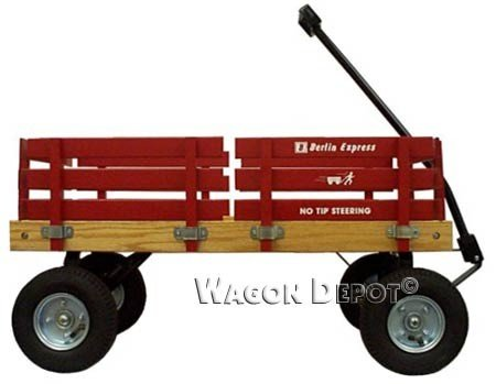 Berlin Flyer Amish Wagon F400 Red