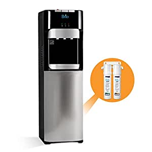 Brio Commercial Grade Bottleless Filter Water Cooler Dispenser-3 Temperature Settings Hot, Cold & Room Water, Durable Stainless Steel Construction, - UL/Energy Star Approved – Point of Use
