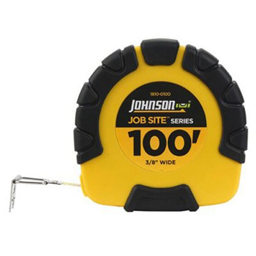 johnson-level-and-tool-1810-0100-100-foot-jobsite-closed-case-geared-steel-tape