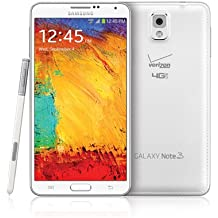 Samsung Galaxy Note 3 N900v 32GB Verizon Wireless CDMA 4G LTE Smartphone - White