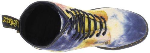 Dr. Martens CASTEL Acid Tie Dye Multi 15099101 - Botas de lona para mujer Multicolor (Mehrfarbig (Multi))