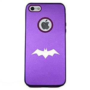 Batman Vengeance 2001 iPhone 5 Case iPhone 5S Case - MetalTouch Purple Aluminium Shell With Silicone Inner Protective Designer Case