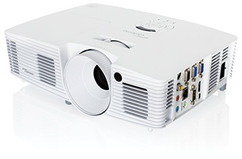 Optoma W351 Full 3D WXGA 3800 Lumen Multimedia DLP Projector with Superior Connectivity and Extended Lamp Life by Optoma