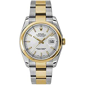 Best Epic Trends 41h7wX0t1%2BL._SS300_ Rolex Oyster Perpetual Datejust Mens Watch 116203