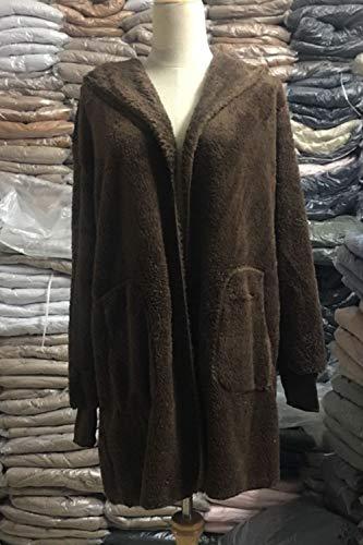 et Blousons Caf Manteaux Femmes Furry Tops Jacket Les Shirts Outercoat Chaud Occasionnels Cardigan Sweat ZnOEw5qx