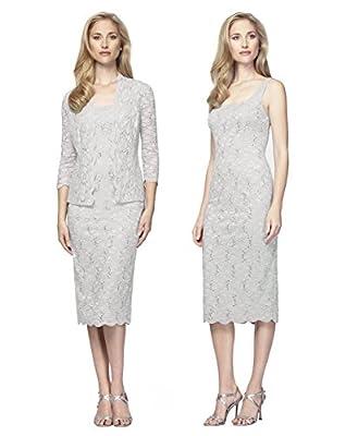 Plus Size Alex Evenings 412264 Dress