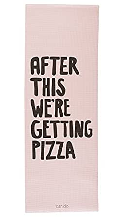 Ban.do Work It Out After This We're Getting Pizza Exercise Mat