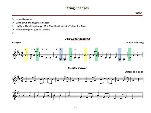 Note Reading For Strings Book 1 (Violin): Eugenia Goldman ...