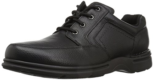 Rockport Men's Eureka Plus Mudguard Oxford, Black, 10.5 W US