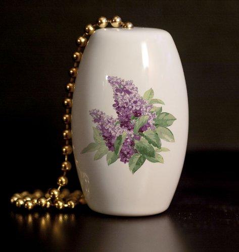 Lovely Lilacs Fan//Light Pull