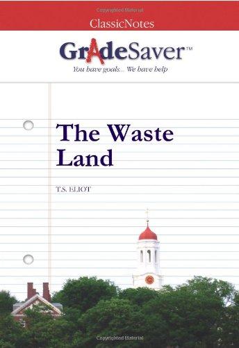The Waste Land Summary Gradesaver