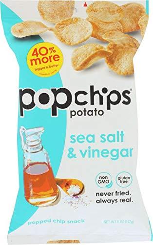 POPCHIPS: Chip Sea Salt & Vinegar, 5 oz -4PACK for sale  Delivered anywhere in USA