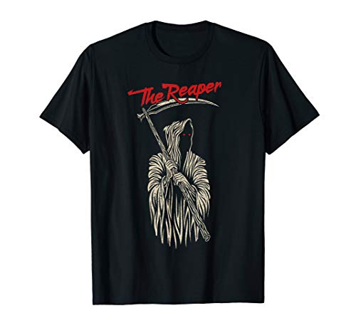 (The Grim Reaper T-Shirt Angle Of Death Halloween Tee Gifts)