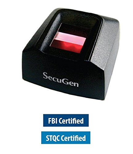 SecuGen Hamster Pro 20 FBI Certified as meeting FIPS 201 (PIV) and FAP 20 - By Pac Supplies USA LLC by PAC Supplies USA