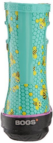 Bogs Skipper At Sea Unisex-Kinder Bees Print/Turquoise/Multi