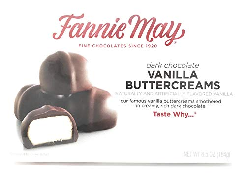 (Fannie May Dark Chocolate Vanilla Buttercreams (6.5 oz. box))
